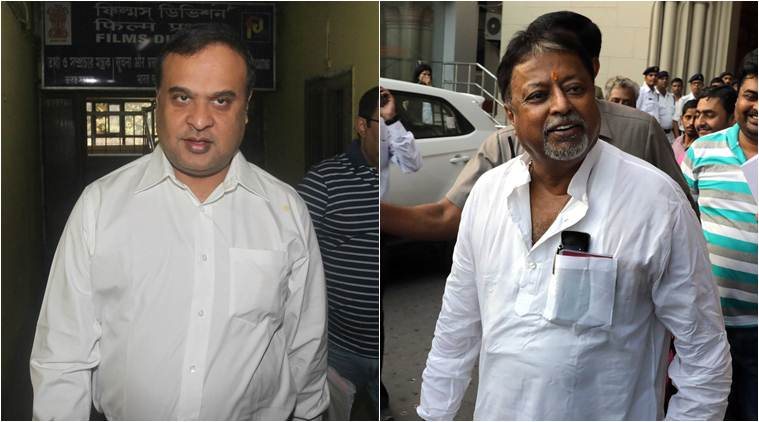 CBI pressure eased off on himanta biswa sharma and mukul roy in Saradha after they joined BJP