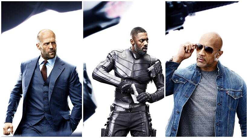 Fast And Furious Presents Hobbs And Shaw Character Posters