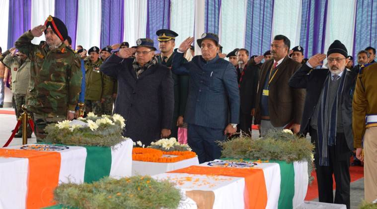 Pulwama attack: Rajnath vows to win decisive war against terror, says morale of jawans not hit