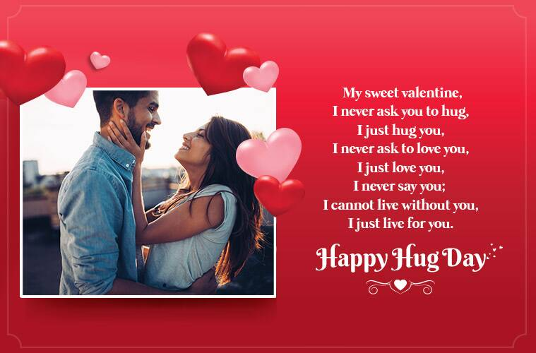 Happy Hug Day 2019 Wishes Images, Quotes, Status, SMS, Pics