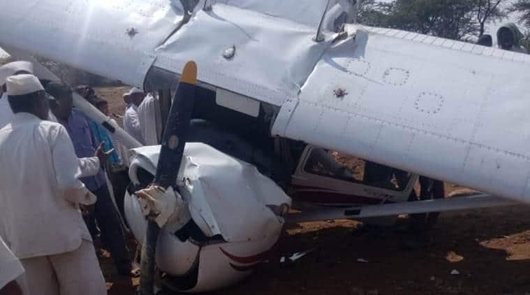 Trainee pilot injured as plane crash lands near Pune