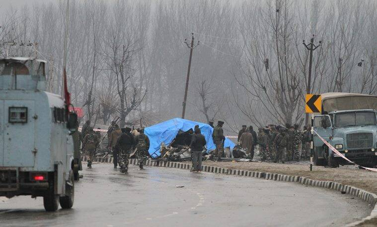 Pulwama attack: In worst terror attack in Valley, car bomber kills 37 CRPF men