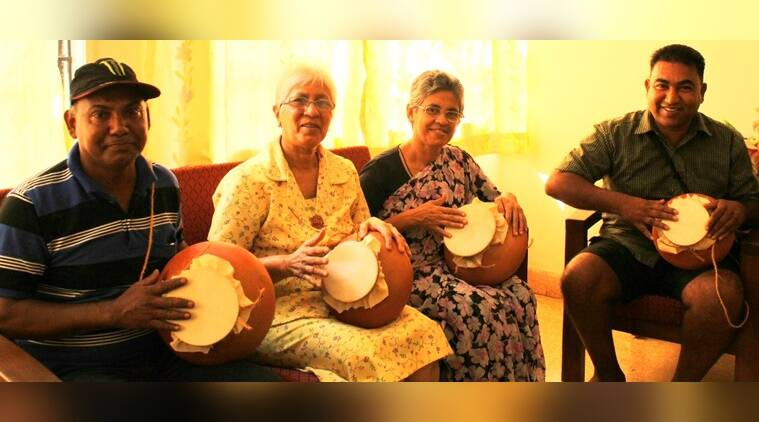Made of clay and a monitor lizard's skin, this Goan drum could get heritage status