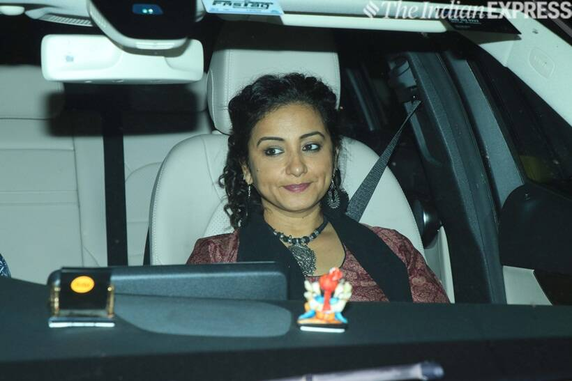 Divya Dutta at Gully Boy screening