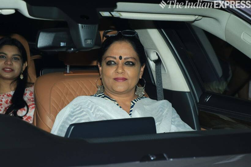 Tanvi Azmi at Gully Boy screening