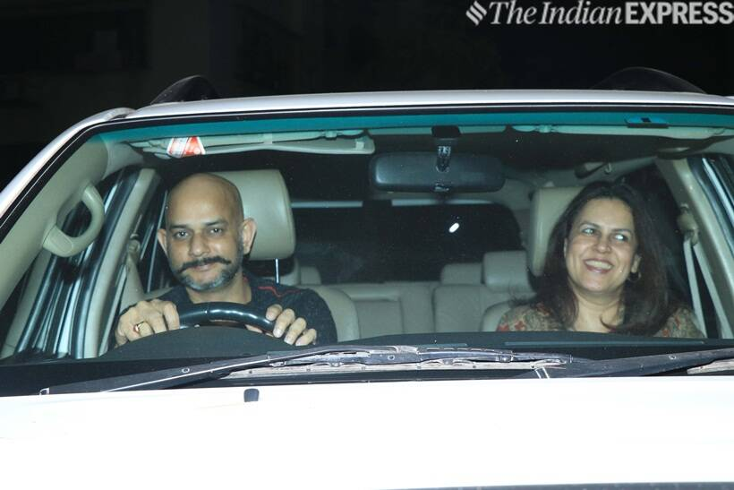 Vijay Krishna Acharya at Gully Boy screening
