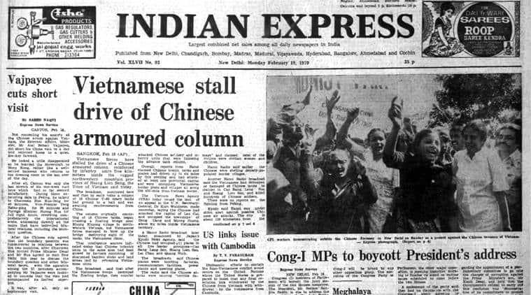indian express archives, indian express old, china vietnam, atal behari vajpayee, vajpayee china visit, latest news, indian express