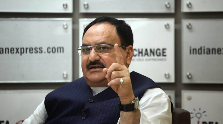 BJP working chief JP Nadda holds first meeting with office-bearers