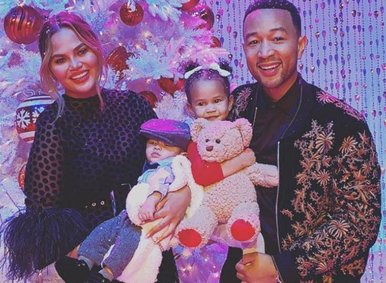John Legend and Chrissy Teigen parenting