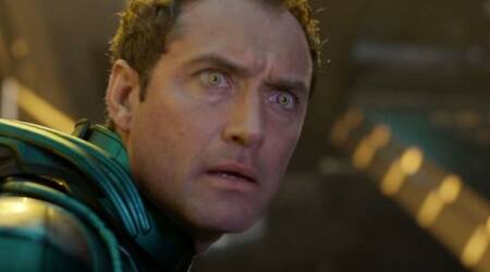 jude law captain marvel role