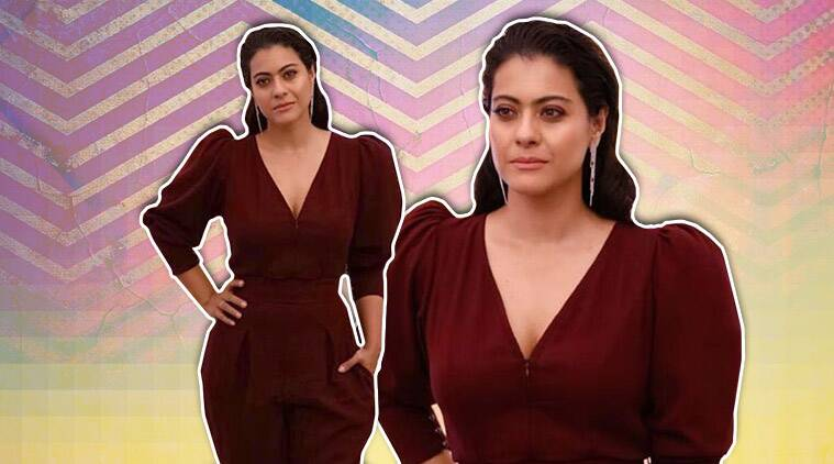 Kajol Misses The Mark In This Jumpsuit; See Pics