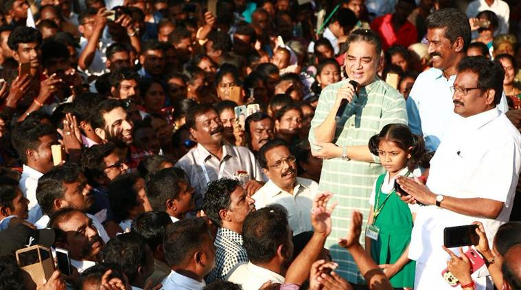 Make use of me for betterment of Tamil Nadu: Kamal Haasan tells supporters