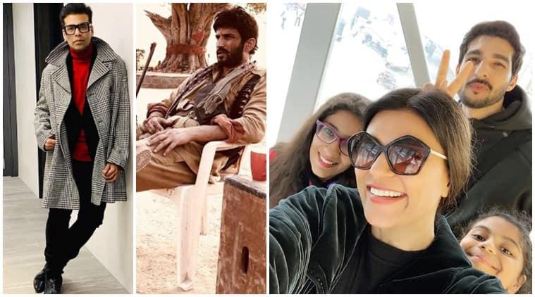 Karan Johar, Sushant Singh Rajput, Sushmita Sen social media videos