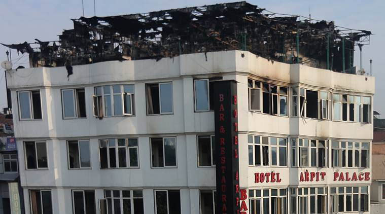Karol Bagh Fire: Hotel Didn't Keep Record Of Myanmar Nationals, Couple