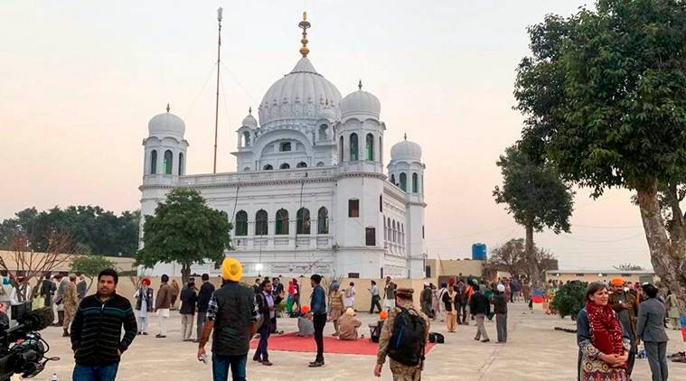 The shrine of Sikh leader Guru Nanak Dev in Kartarpur, Pakistan. (Source: PTI/File)