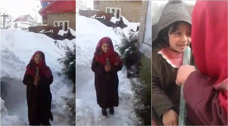 Kashmiri Teen Girl Becomes Overnight Sensation After 'reporting' On Snowfall, Wins Hearts Online
