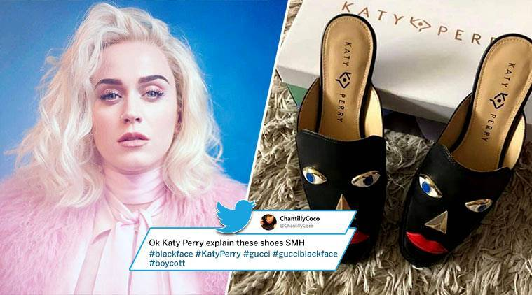 Katy Perry, Katy perry blackface shoes, katy perry racist, racist shoes, racism, racist comments, Hollywood, Hollywood news, indian express, indian express news
