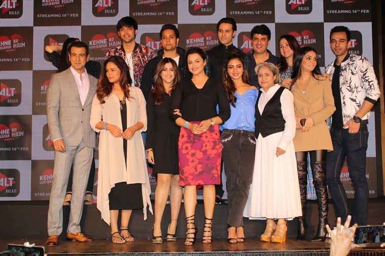 Kehne Ko Humsafar Hain 2 trailer launch photos