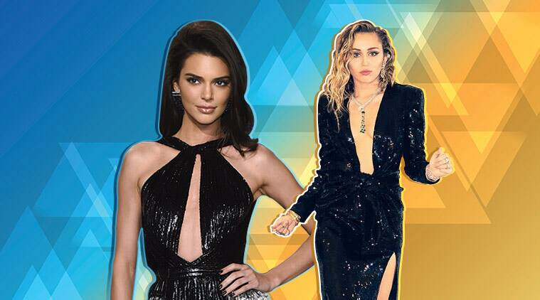 oscars 2019 vanity fair after party, oscars 2019 vanity fair after party fashion, oscars 2019 vanity fair after party who wore what, kendall jenner vanity fair, indian express, indian express news