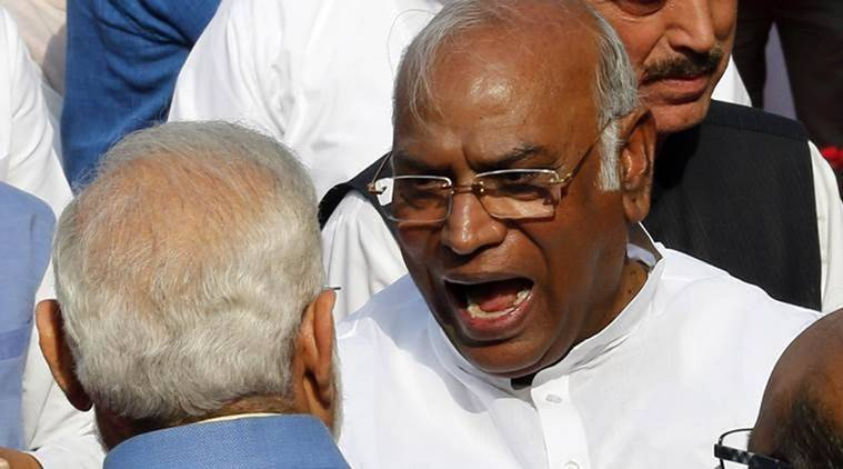 Kharge to boycott Lokpal meeting again, says can't accept Oppn being made voiceless