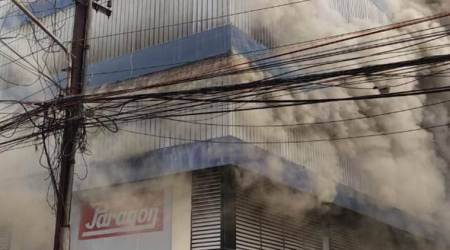 Kochi footwear godown fire: Detailed report to be submitted by Kerala fire and rescue services