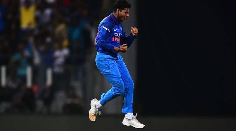 Kuldeep Yadav, Kuldeep Yadav 100 odi wickets, Kuldeep Yadav record, india vs australia records, ind vs aus record, ind vs aus 2nd odi rajkot, cricket records