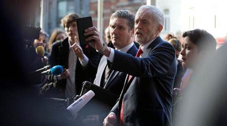 Labour party, jeremy corbyn, ian austin, world news, lawmaker resigns, world politics, london news, indian express