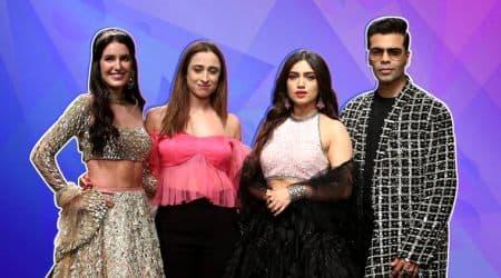 lakme fashion week, lakme fashion week, shela khan lakme fashion week, lakme fashion shela khan, isabel kaif lakme fashion week, karan johar lakme fashion week, indian express, indian express news