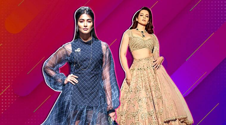 lakme fashion week, lakme fashion week 2019, lakme fashion week 2019, anushree reddy kangana ranaut, raghuvendra rathore, janhvi kapoor, anil kapoor, Pooja Hegde, A Summer Reverie, Sustainable Fashion Day, indian express, indian express news
