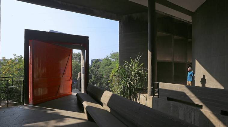 Pritzker awardee BV Doshi's building projects, BV Doshi architect, Le Corbusier's studio in France, Mill Owners' Building Association, Sarabhai House, Shodha Villa, architecture and design, indian express, indian express news