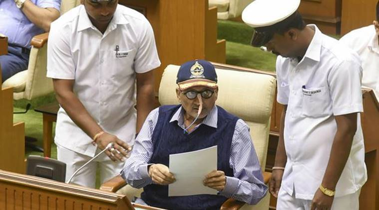 manohar parrikar, manohar parrikar death news, manohar parrikar death news, manohar parrikar dead, goa cm death news, goa chief minister death news, manohar parrikar dead, manohar parrikar health, manohar parrikar illness, goa cm parrikar, manohar parrikar news, manohar parrikar news today, Goa government, manohar parrikar health news, Goa Chief Minister, Goa Congress, Goa BJP, goa cm manohar parrikar, goa cm health news, manohar parrikar latest news, Manohar Parrikar Health condition, Goa News, Goa CM Latest News