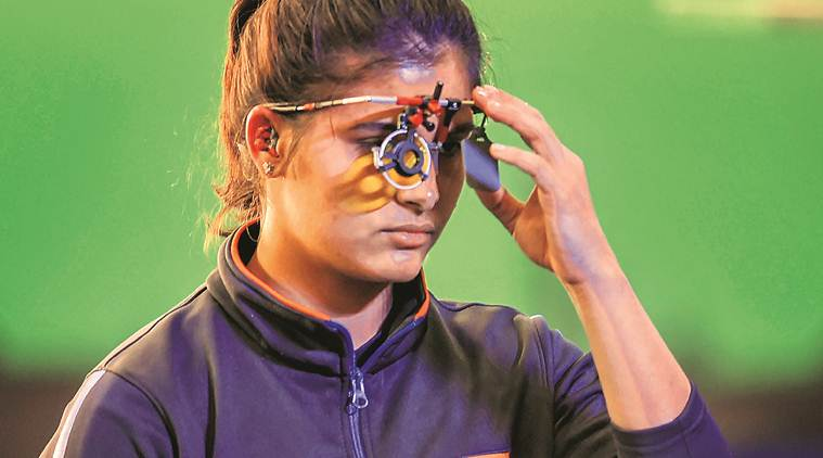 ISSF world cup, ISSF world cup India, Heena Sidhu, indian express, latest news