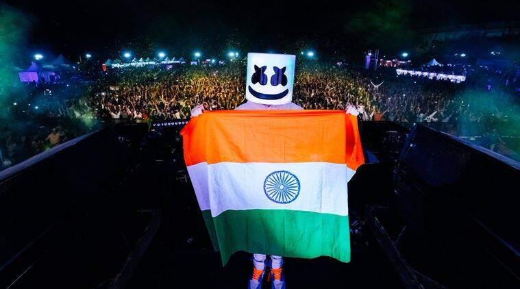 Marshmello, pulwama attack, pulwama terrorist attack, pulwama crpf jawans death, marshmello india tour, marshmello pulwama jawan tribute, viral news, india news, indian express