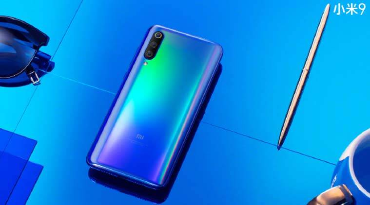 Xiaomi Mi 9 in Blue Holographic colour