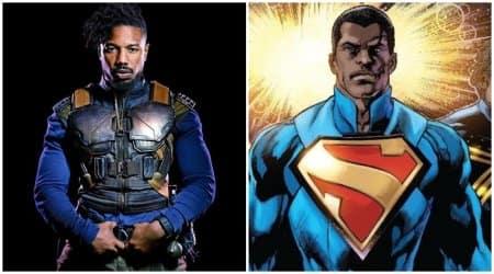 michael b jordan on superman casting rumours