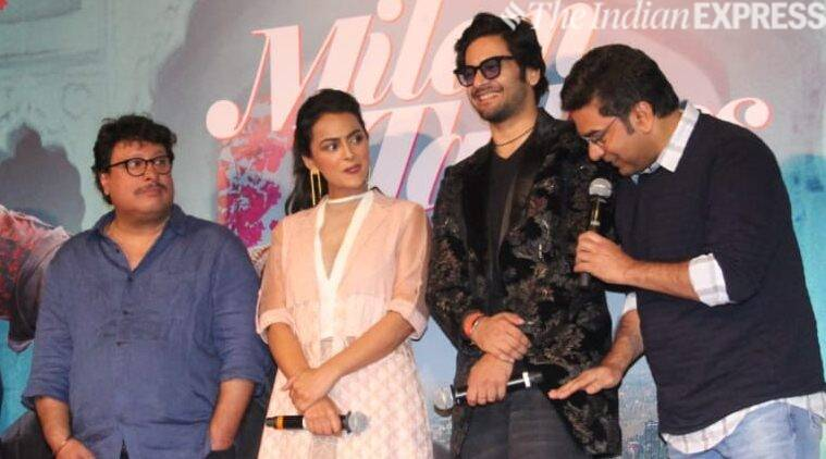 milan talkies trailer launch with tigmanshu dhulia, ali fazal and shraddha srinath