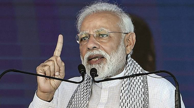 """India a victim of terrorism """"sheltered and supported"""" from across the border: PM Modi"""