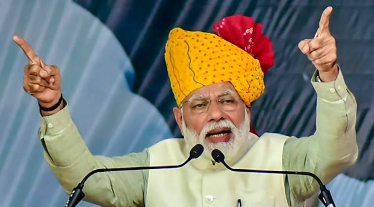 narendra Modi, PM Modi on attack on Kashmiris, Kashmiris attacks, Jammu and kashmir, Pulwama attack, J&K, PM Modi election rally, India news, Indian express
