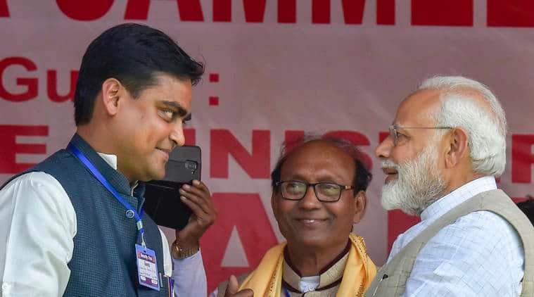 Image result for shantanu thakur bjp