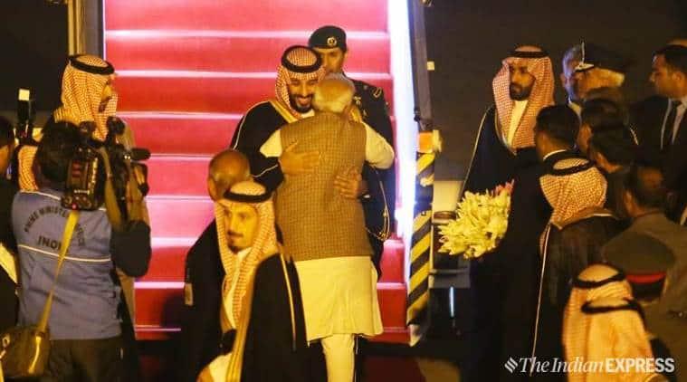 Breaking Protocol, Pm Modi Receives Saudi Crown Prince At Delhi Airport
