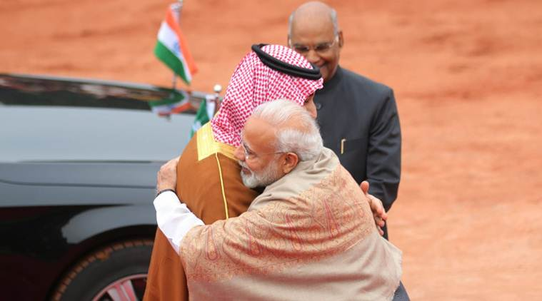 pm narendra modi and Mohammad Bin Salman on terrorism, pulwama, india saudi ties