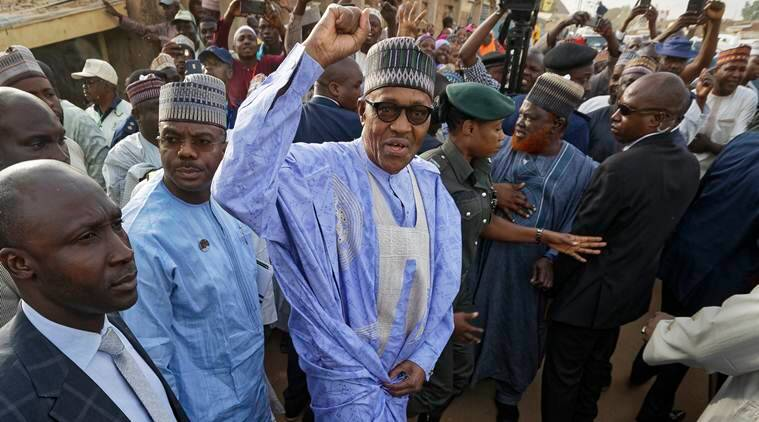 Nigeria's Muhammadu Buhari wins second term as president