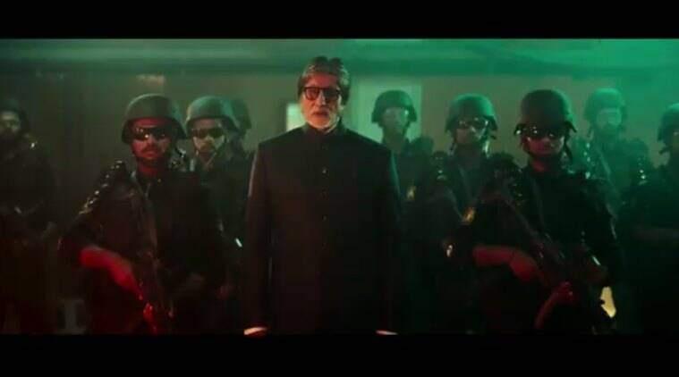 Watch: Amitabh Bachchan Introduces Mumbai Police's Quick Response Team