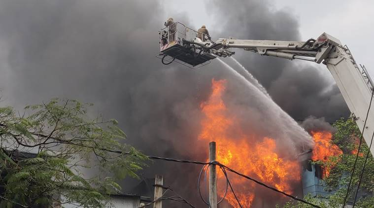 Delhi: Fire Breaks Out At A Factory In Naraina, 23 Fire Tenders At Spot