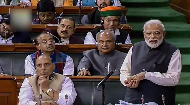 Parliament LIVE: PM Modi speaks in Lok Sabha