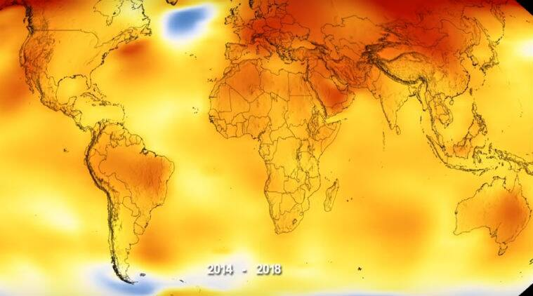 NASA, hottest year, global warming, National Oceanic and Atmospheric Administration, NOAA, 2018 fourth hottest year, how hot was 2018, climate change