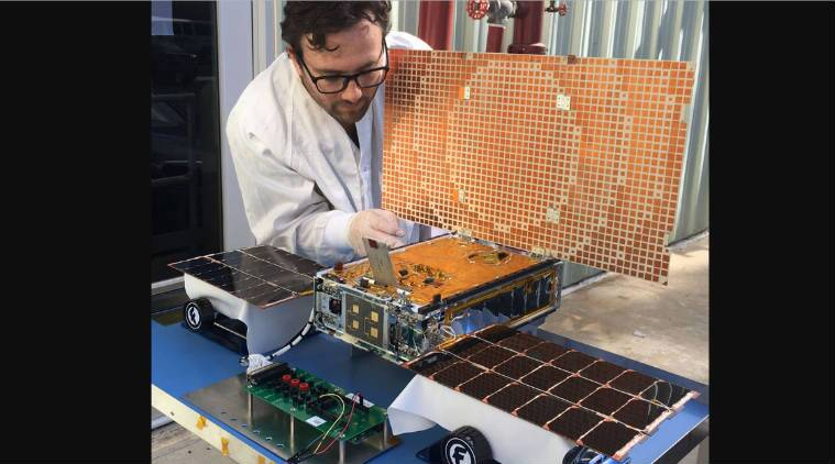 Nasa's first mini-spacecraft in deep space go silent