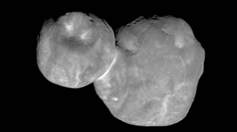 NASA, space, New Horizons, ultima thule, space snowman, NASA's space snowman, New Horizons spacecraft, ultima thule images, ultima thule fly by, ultima thule nasa, new horizons, nasa new horizons, new horizons ultima thule