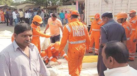 The Tiware dam, The Tiware dam breach, The Tiware dam breach death toll, The Tiware dam demolished, National Disaster Response Force, Indian Express news