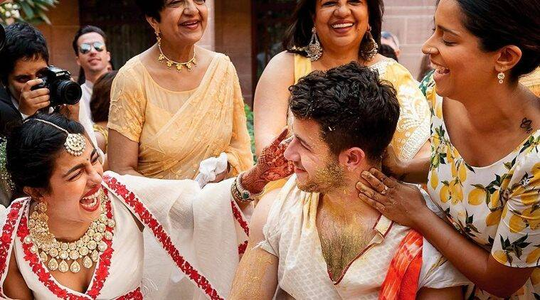 lilly singh shares Priyanka chopra nick jonas haldi photos